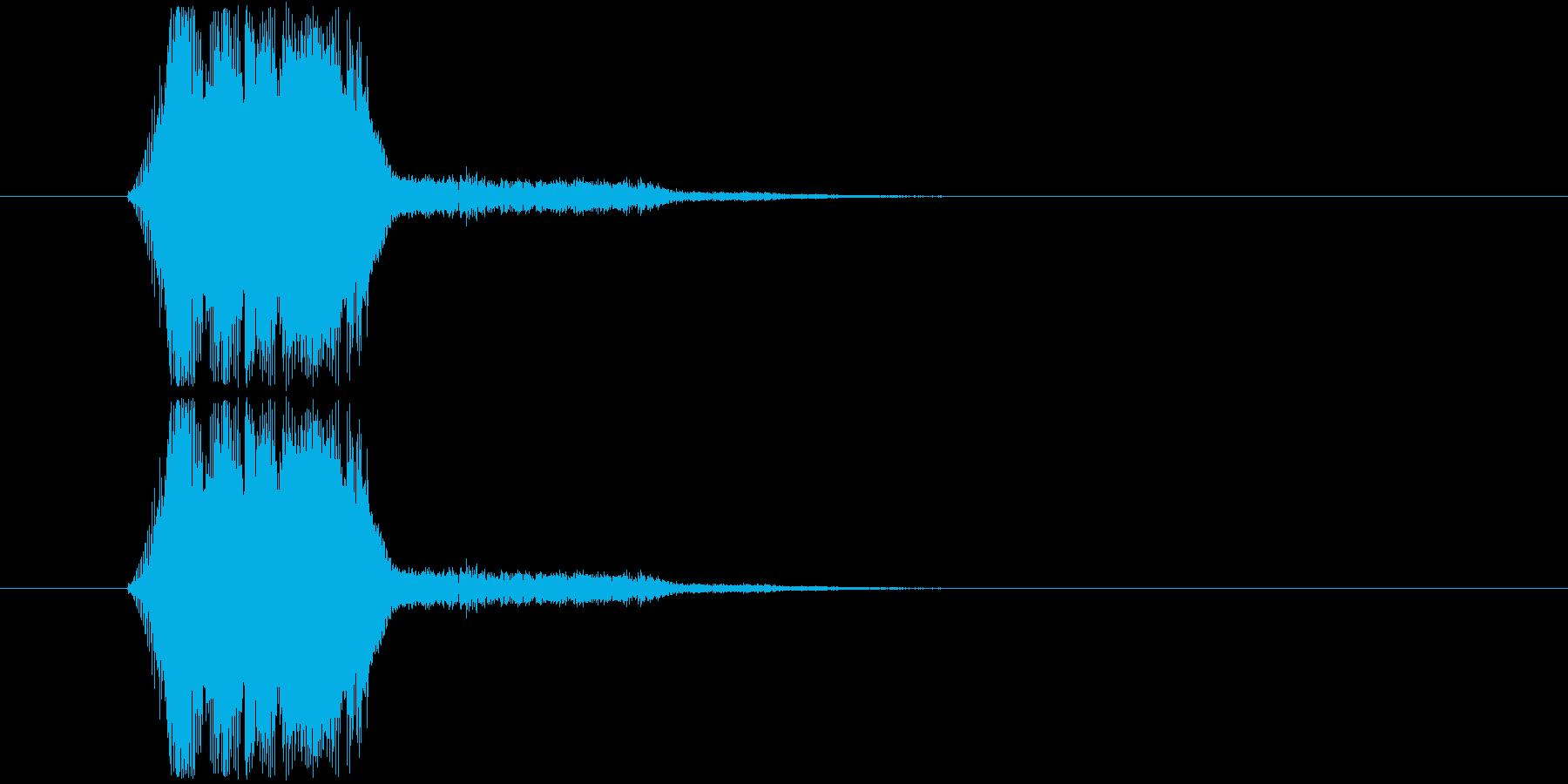 画面表示(m0281)の再生済みの波形