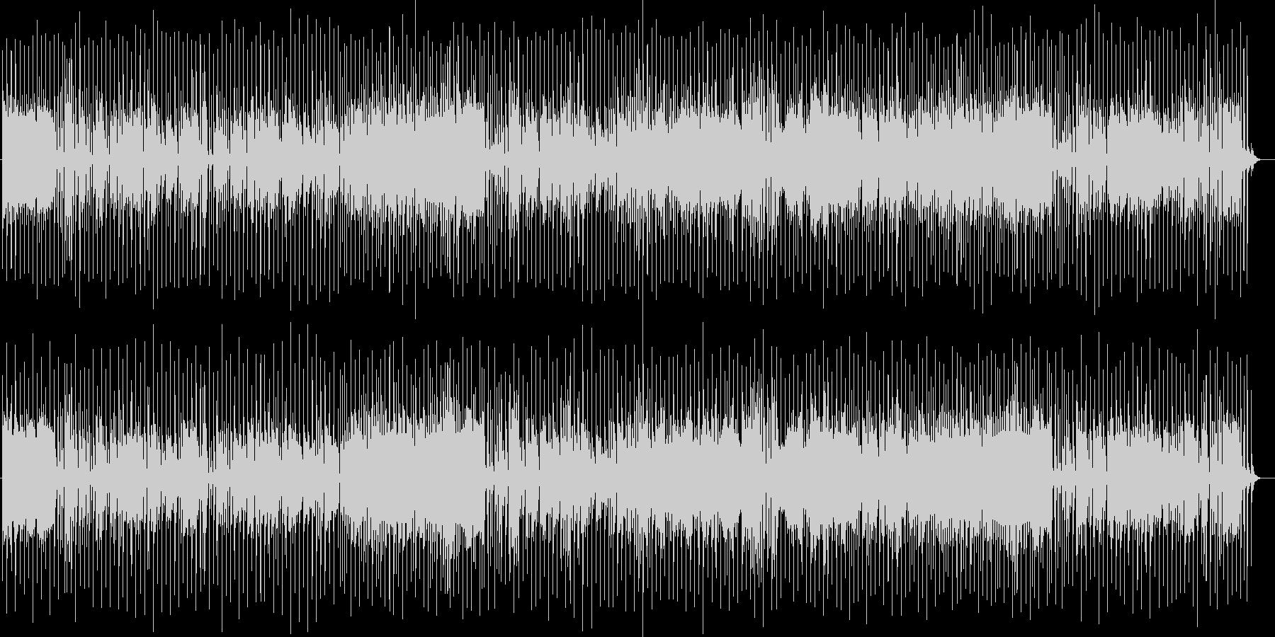 爽やかなシンセサイザーサウンドの未再生の波形