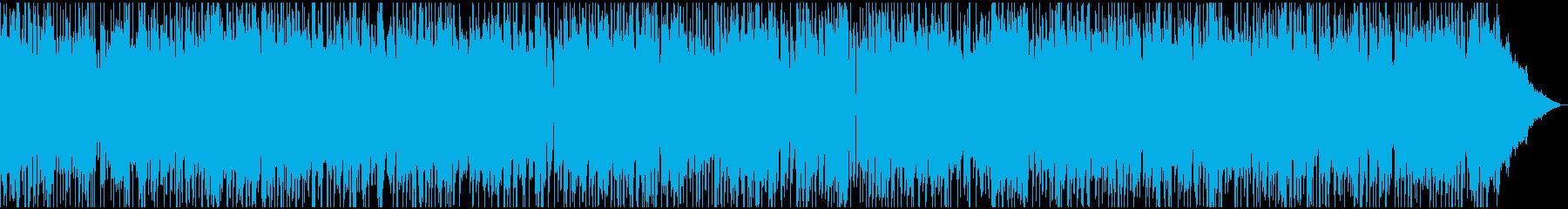 程よい疾走感のあるポップ・ロックの再生済みの波形