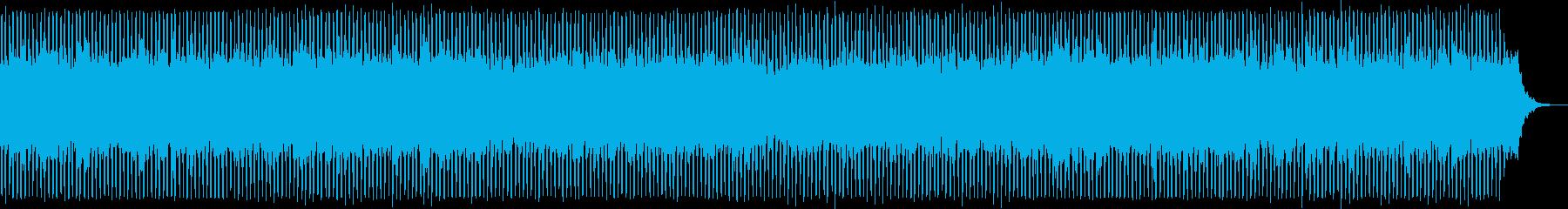 ベルが主役のテクノポップの再生済みの波形