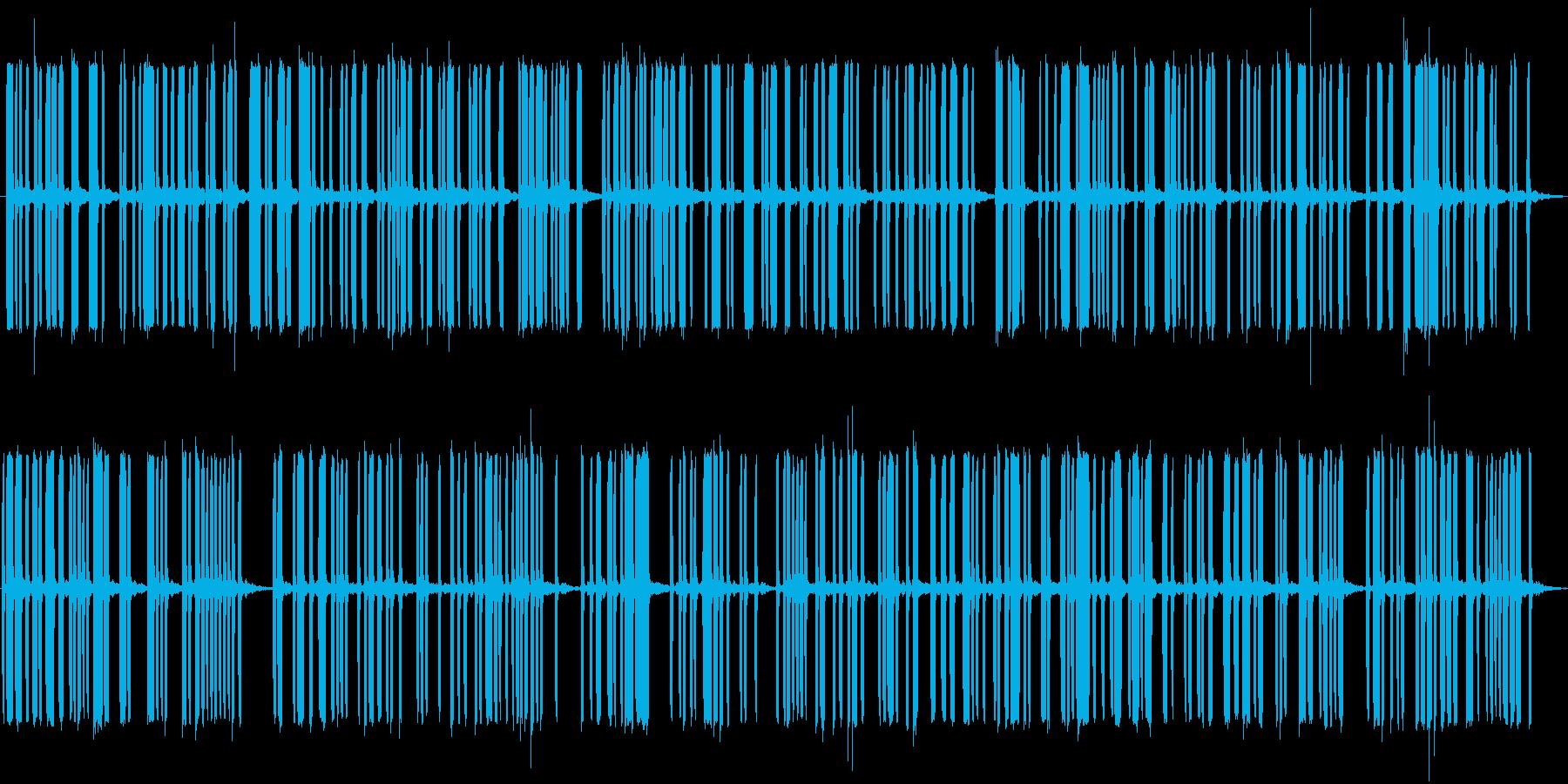 電気信号の再生済みの波形