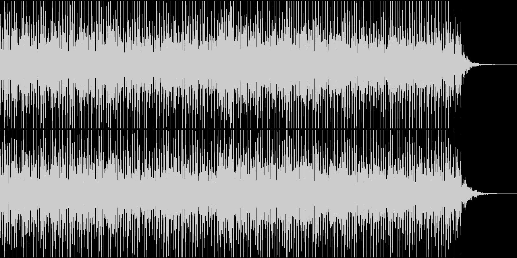 爽快でスタイリッシュなクラブ系BGMの未再生の波形