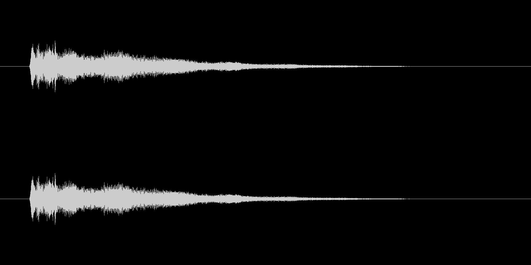 【競技用ゴング02-1】の未再生の波形