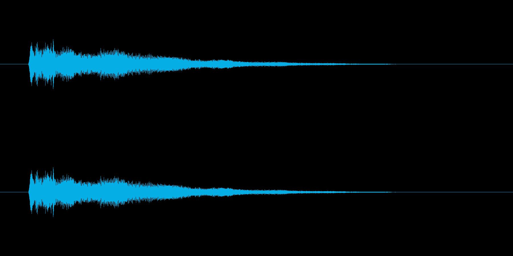 【競技用ゴング02-1】の再生済みの波形