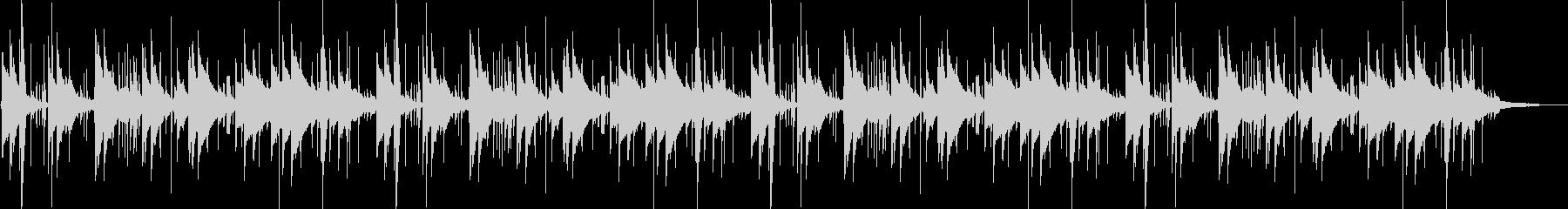 鉄琴とアコギの近代的なポップスの未再生の波形