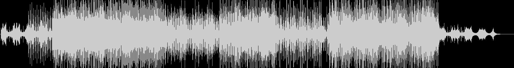 逆再生音を使ったおしゃれなポップBGMの未再生の波形