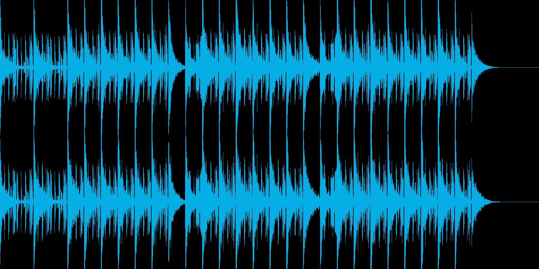 スペイシーで切ないエレクトロニカビートの再生済みの波形