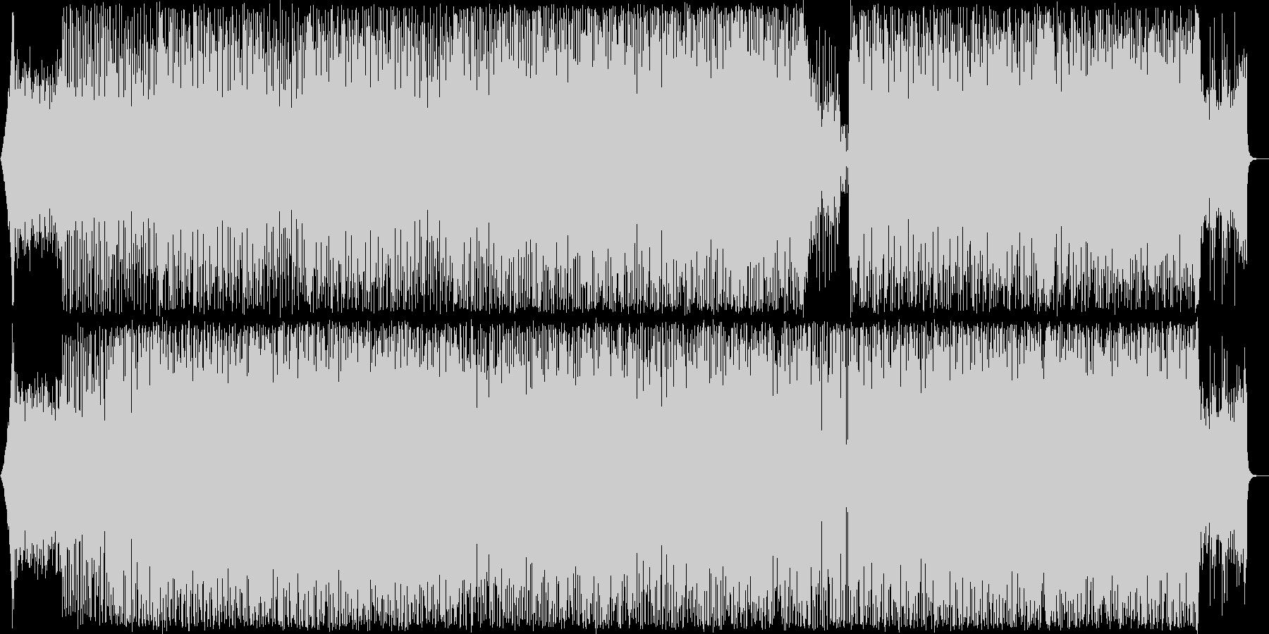サンバ風きらきらエレキギターポップスの未再生の波形