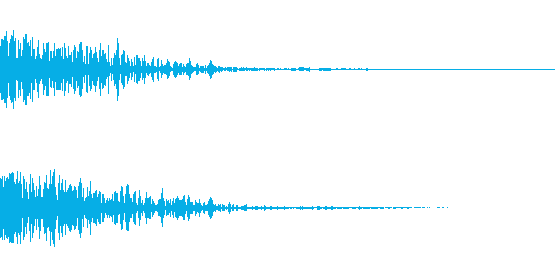 ベーンの再生済みの波形