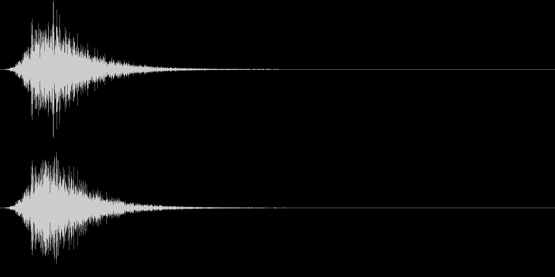 Battle 戦闘エフェクト音 7の未再生の波形
