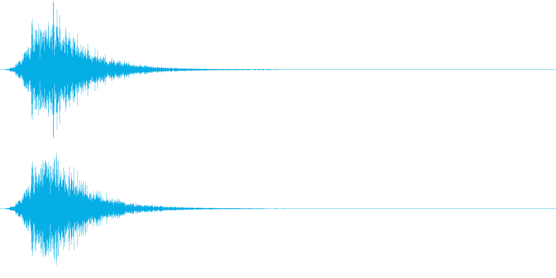 Battle 戦闘エフェクト音 7の再生済みの波形