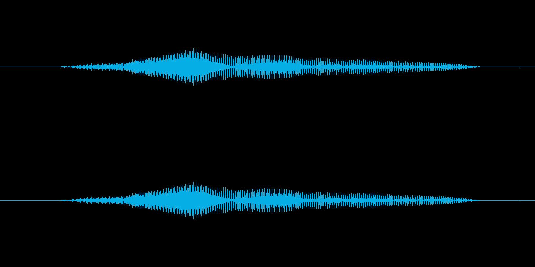 よぉおの再生済みの波形