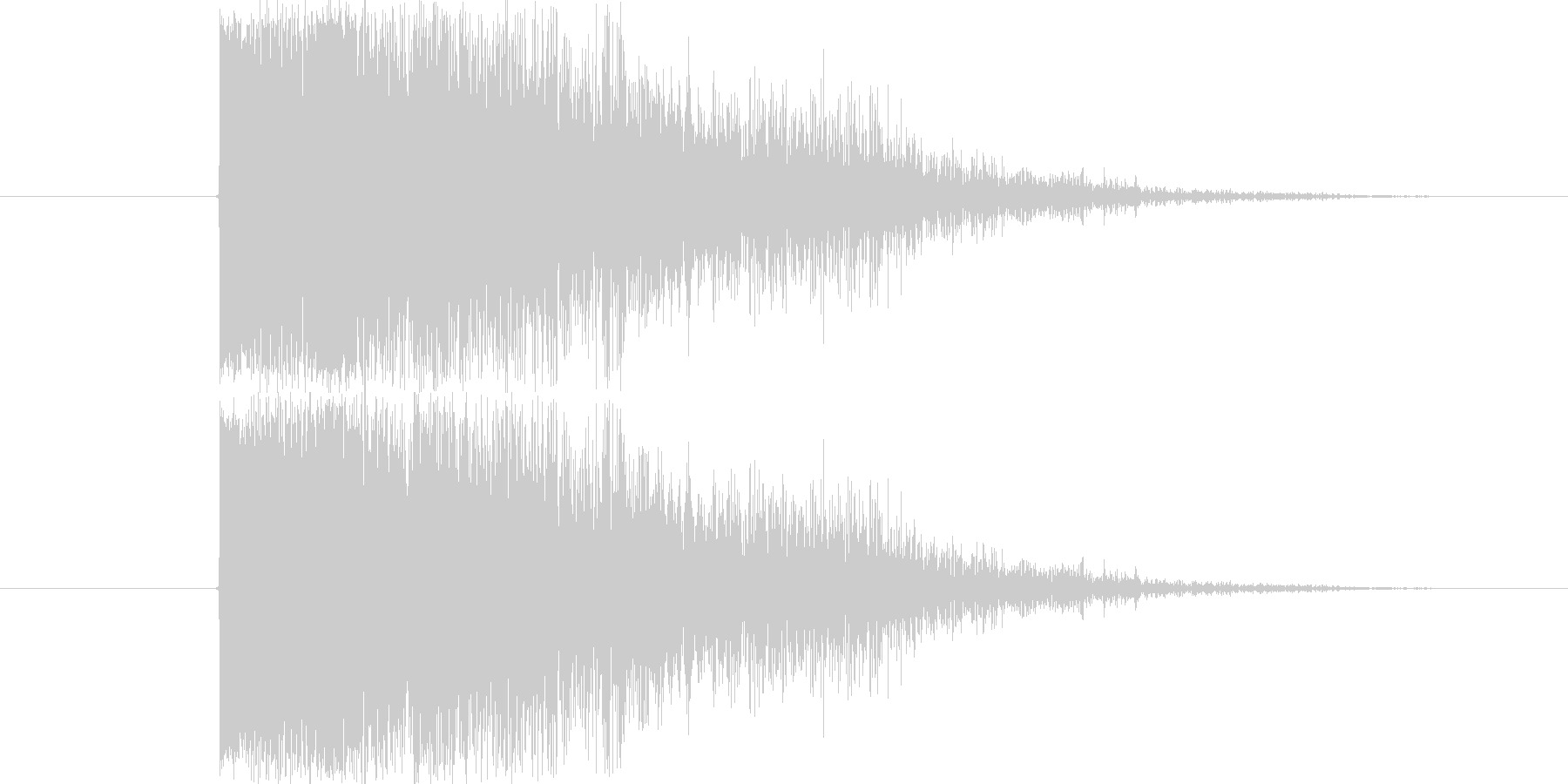 SF的なインパクト音です。シンセ音に伸…の未再生の波形