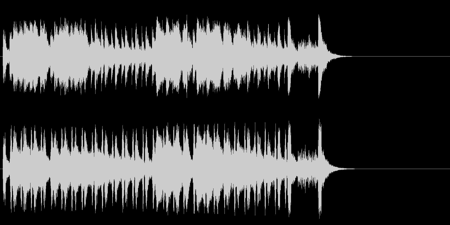 懐かしブギウギ和風ポップ(Aメロ)の未再生の波形