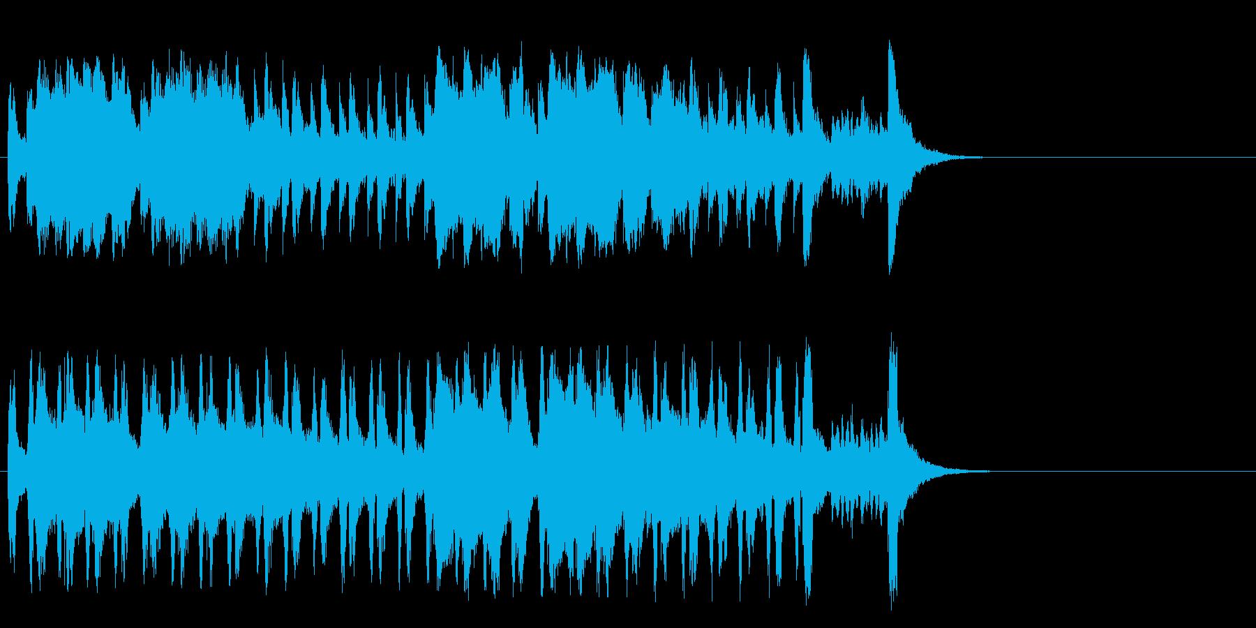 懐かしブギウギ和風ポップ(Aメロ)の再生済みの波形