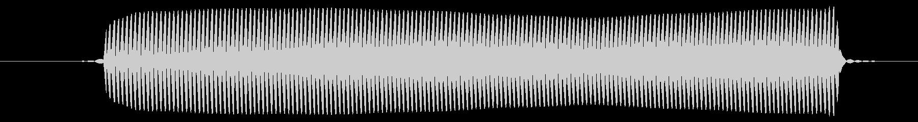 ピッ/選択音/8ビットの未再生の波形