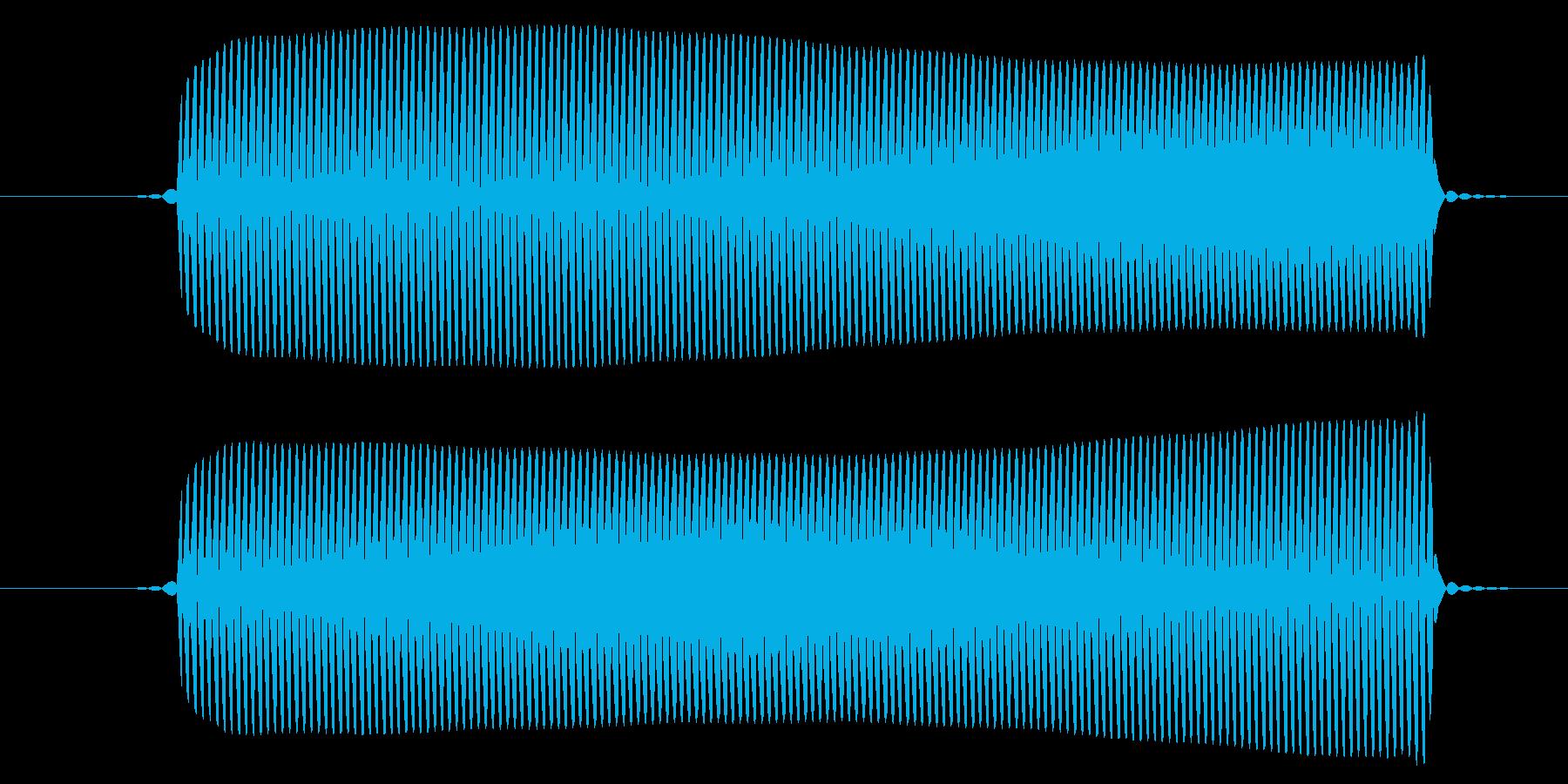ピッ/選択音/8ビットの再生済みの波形