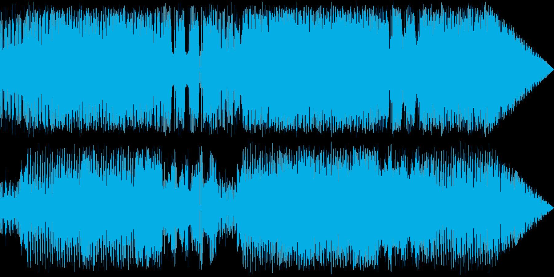 レトロなファミコン音でスタイリッシュ戦闘の再生済みの波形