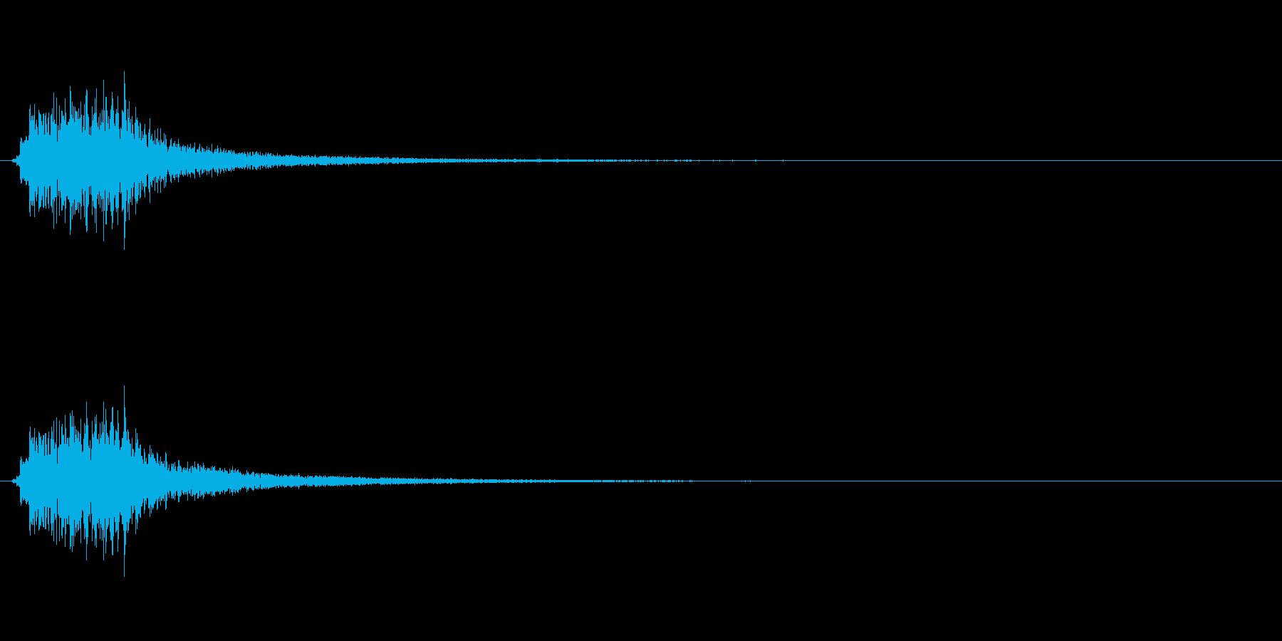 キラキラ系_011の再生済みの波形