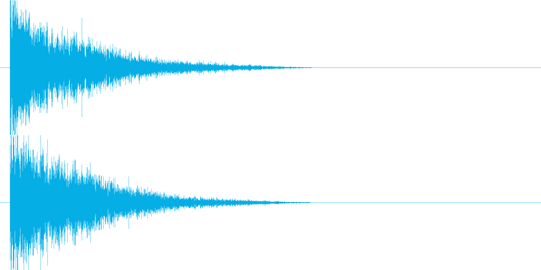 バーンの再生済みの波形
