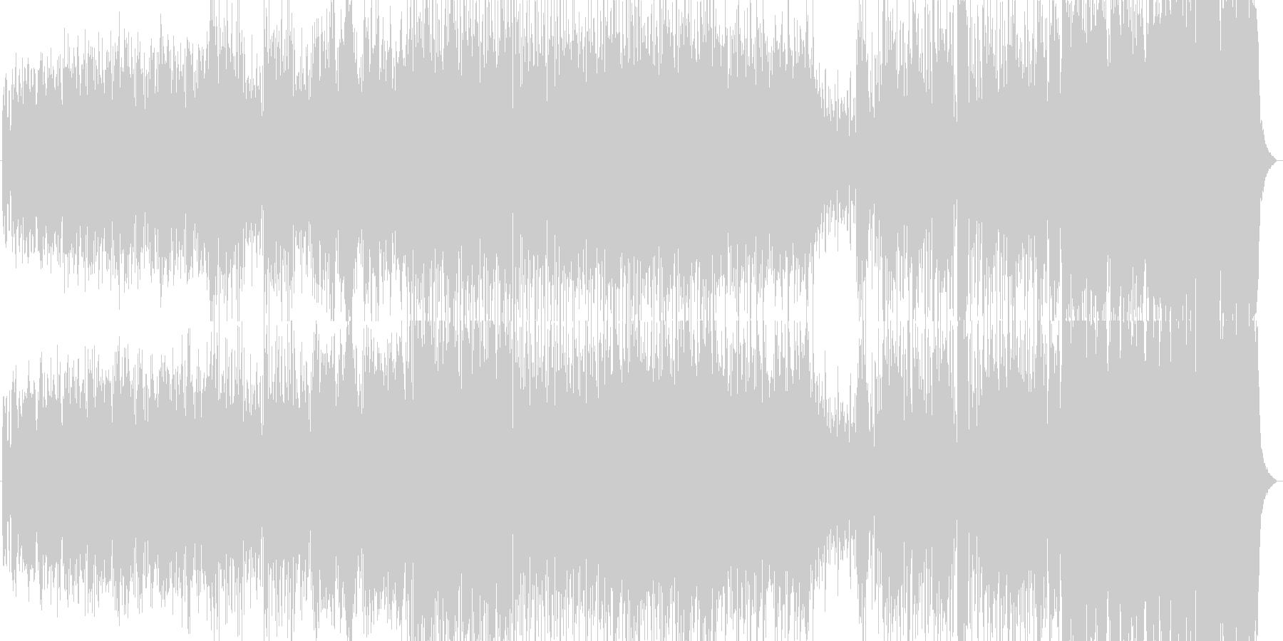 【カントリー】バンジョー/アコーディオンの未再生の波形