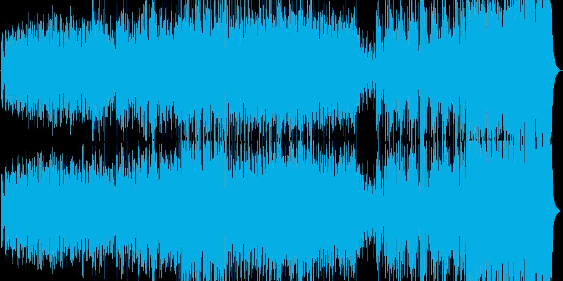 【カントリー】バンジョー/アコーディオンの再生済みの波形