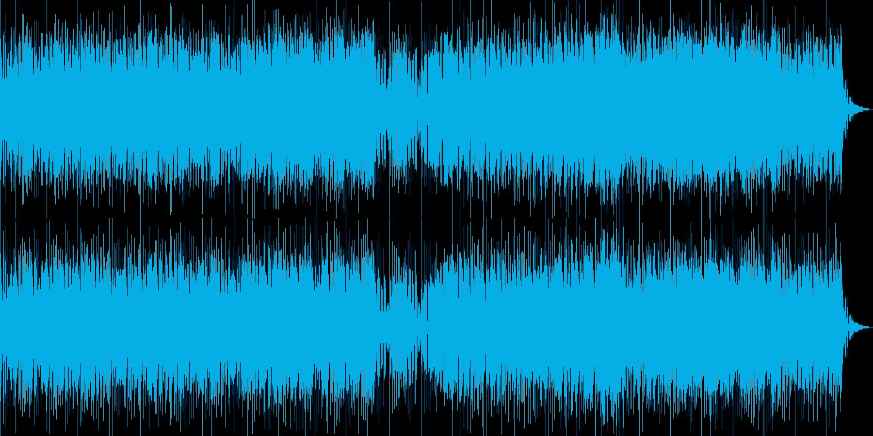 ちょっぴり速い恋心の曲の再生済みの波形