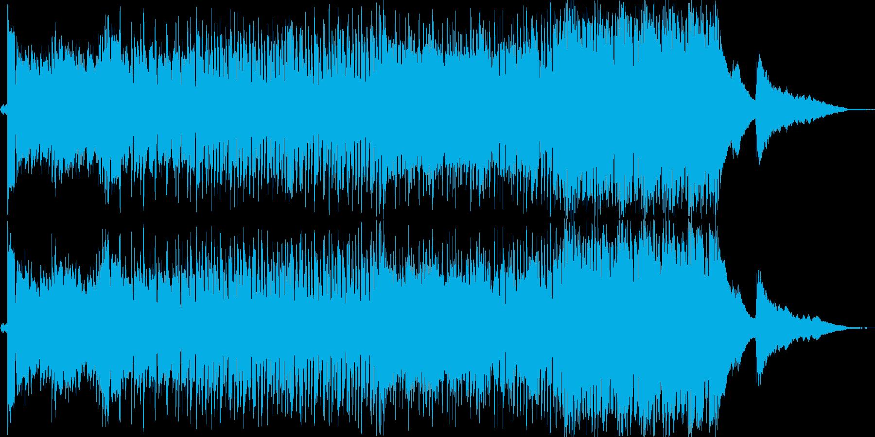 分かりやすい感動系の再生済みの波形