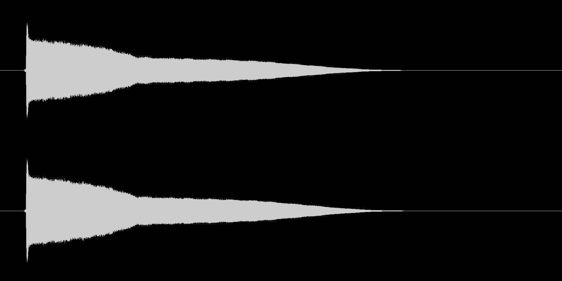 ファンファンファン(サイレン、コミカル)の未再生の波形