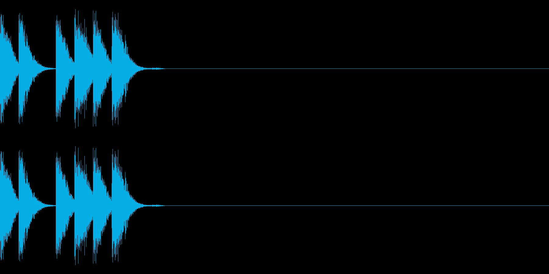 パリリリ(電子)の再生済みの波形