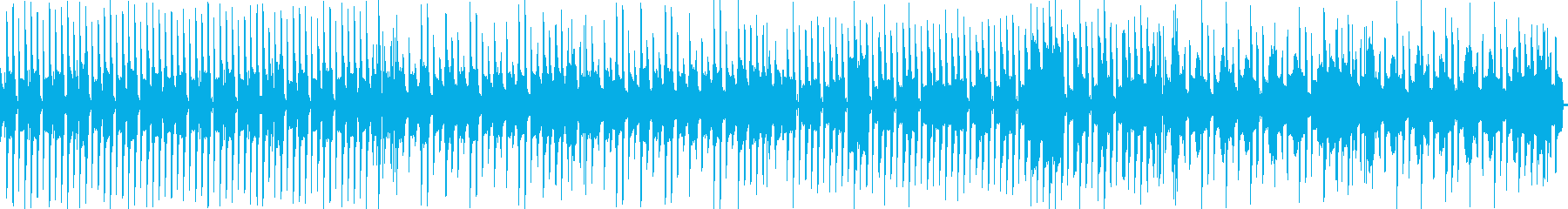 日常系 ほのぼのしたピアノとドラムの曲の再生済みの波形
