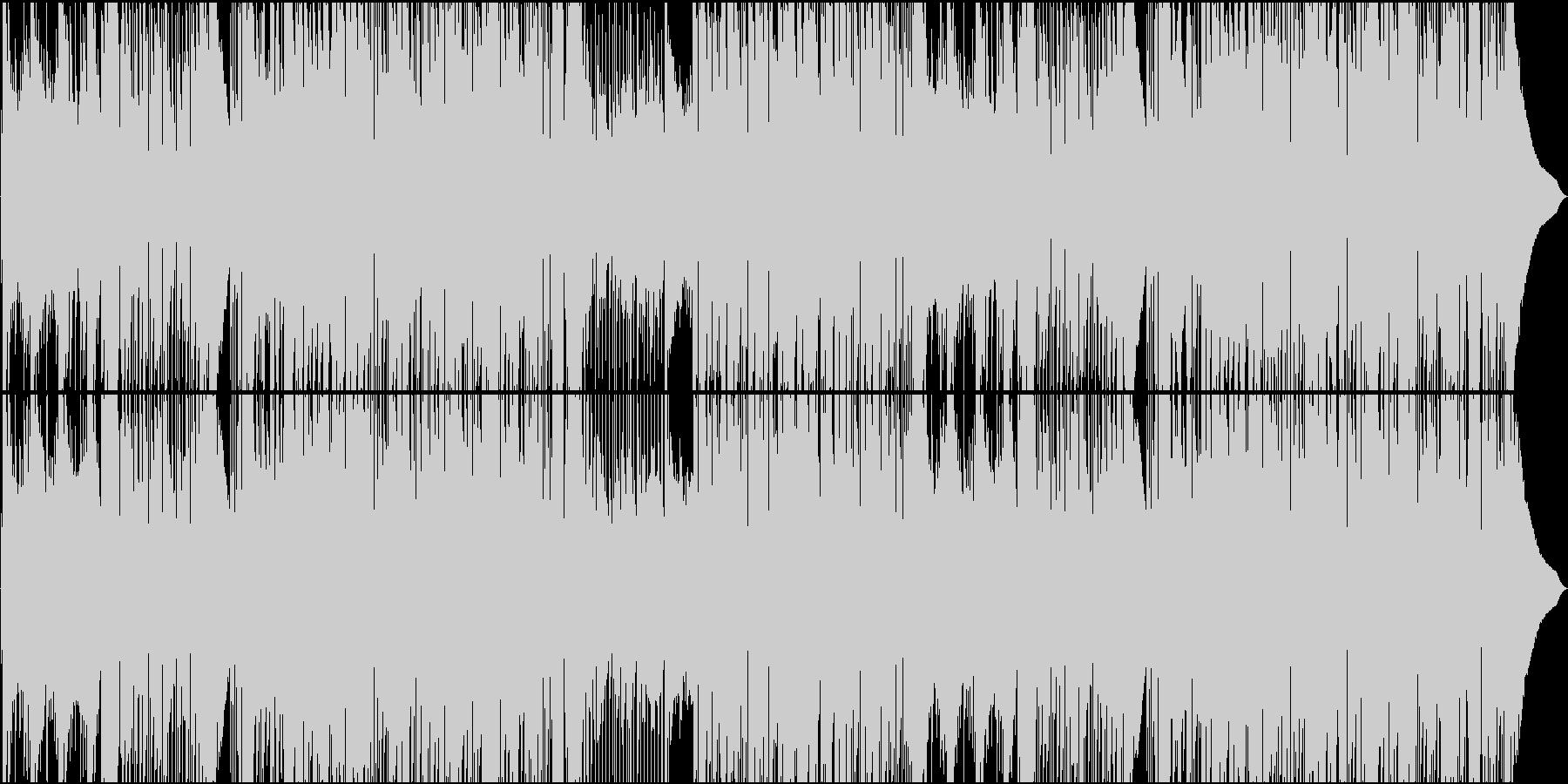アコギが気持ち良いテンポ早めのカントリーの未再生の波形