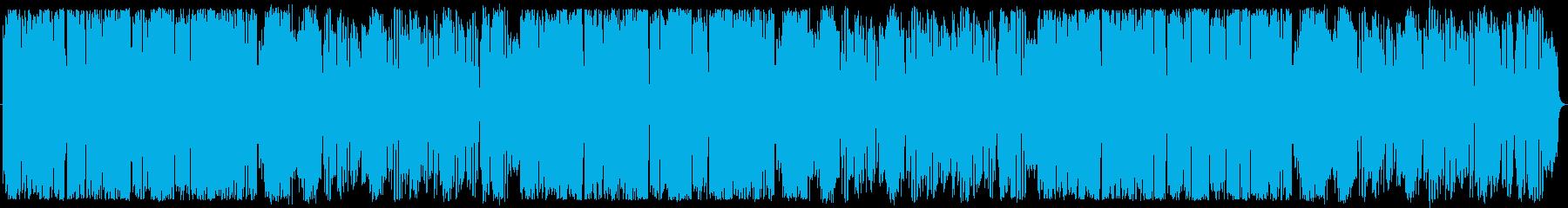 ゆったりほのぼのなBGMの再生済みの波形