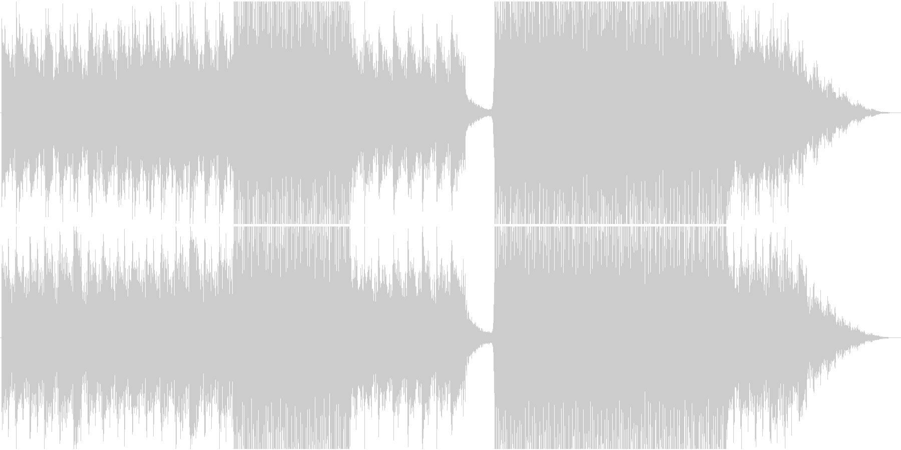 エレクトロ・EDMの未再生の波形