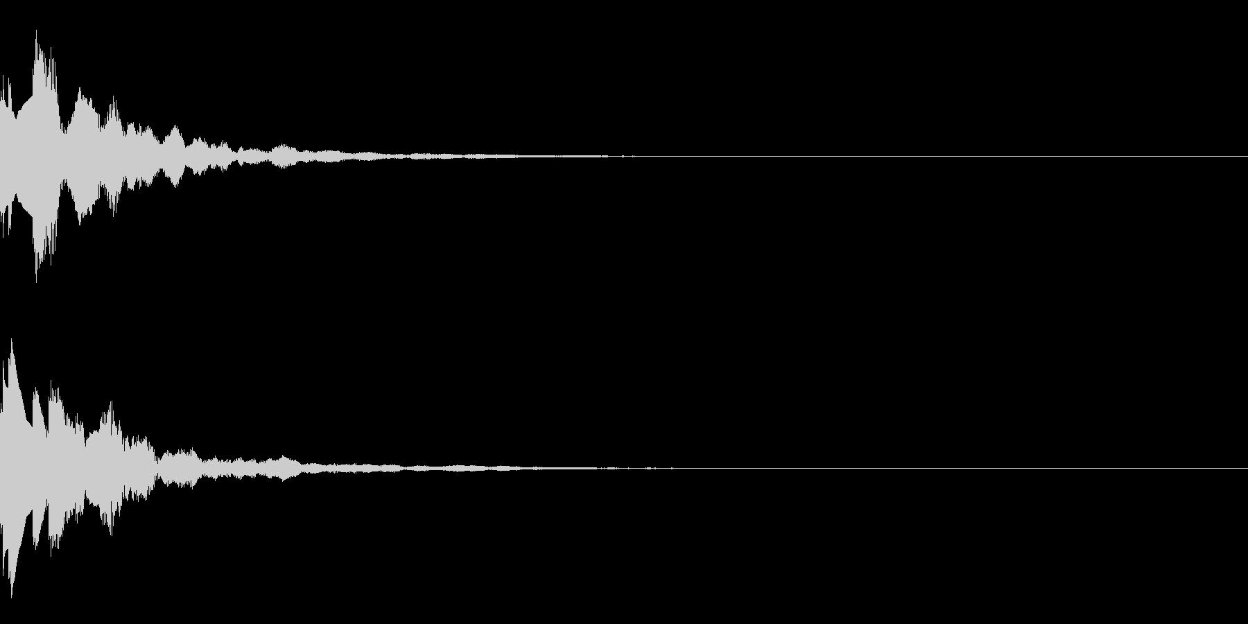 サウンドロゴ53の未再生の波形