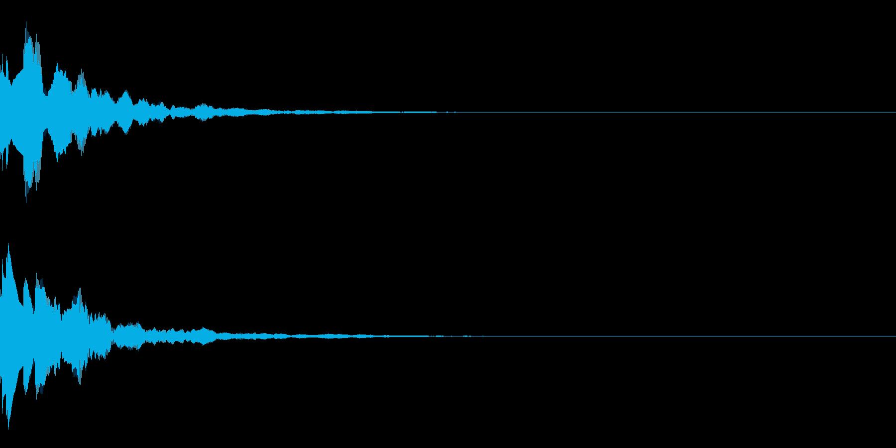 サウンドロゴ53の再生済みの波形