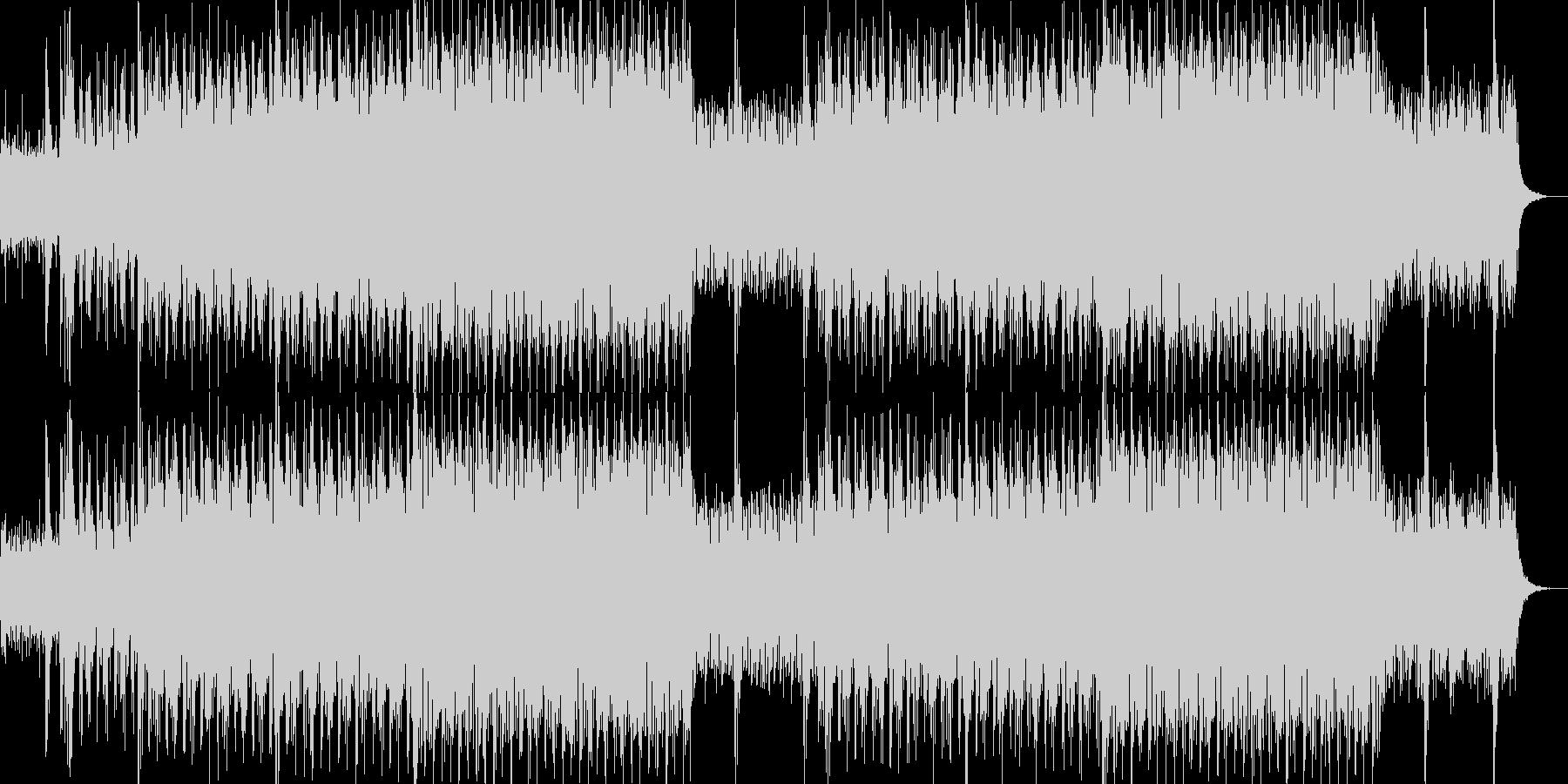 現代的で都会的なシンセミュージック-07の未再生の波形