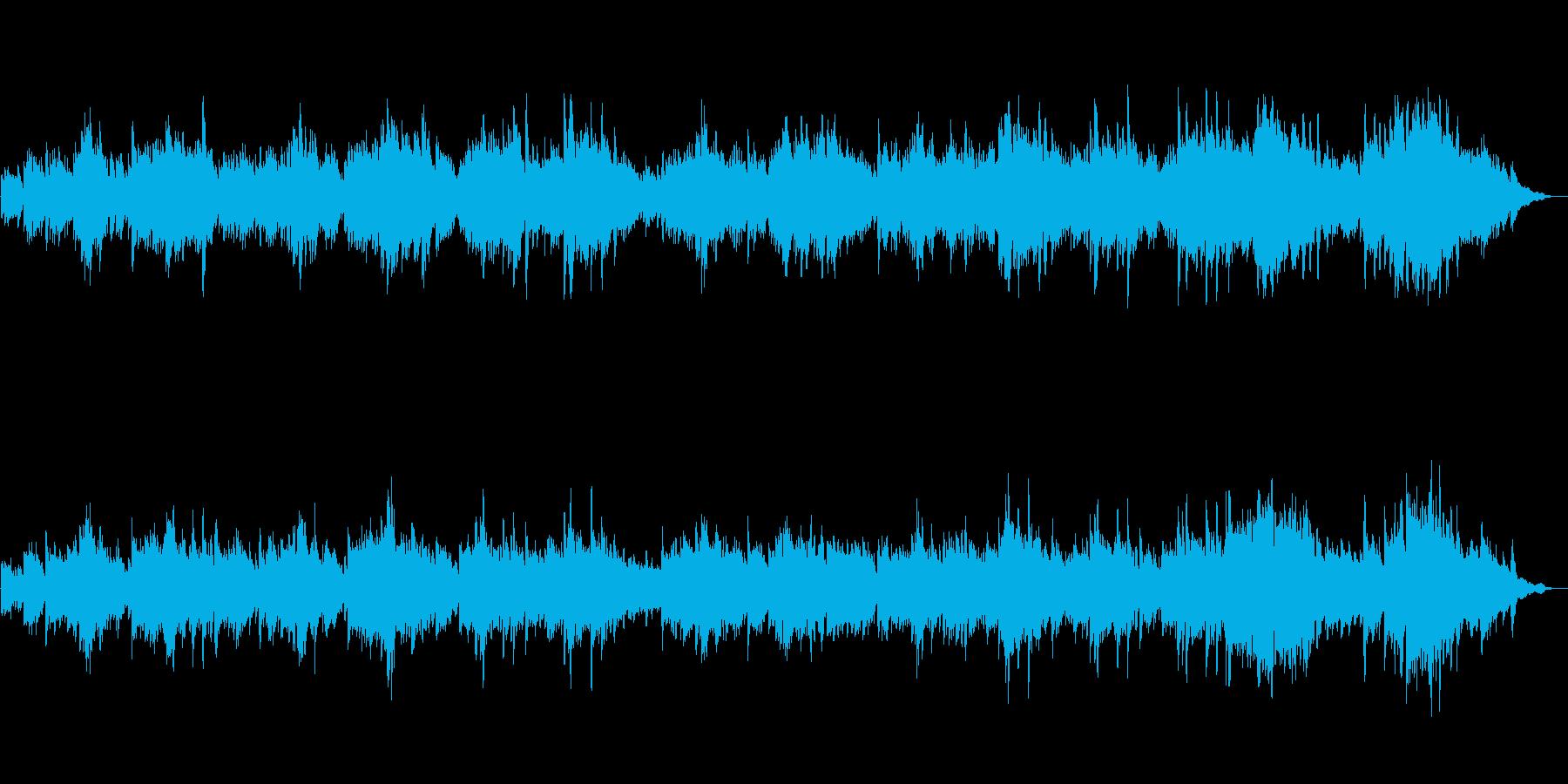 深刻で美しいピアノ曲の再生済みの波形