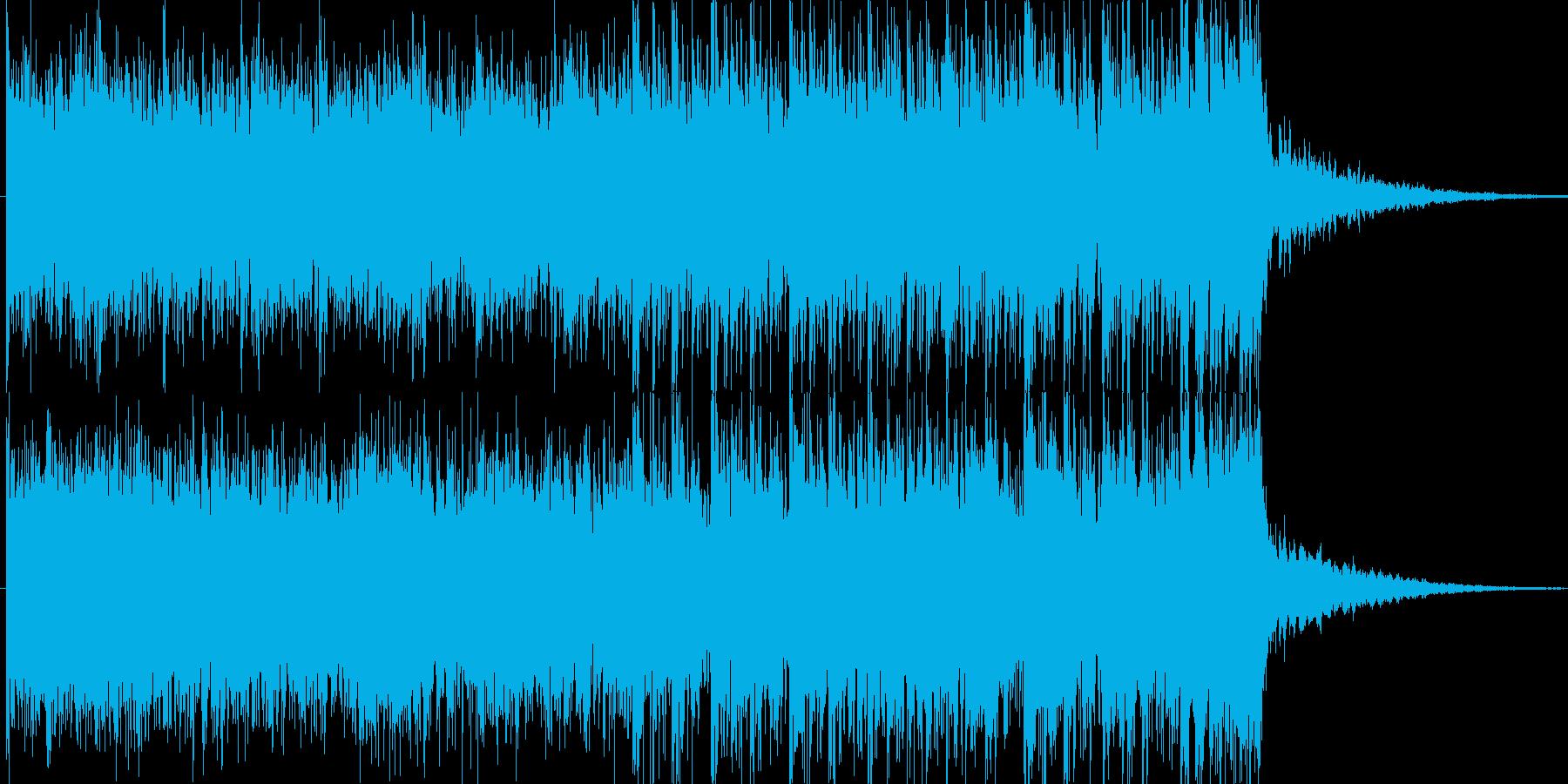 変身・覚醒・召喚・昂揚をイメージの再生済みの波形