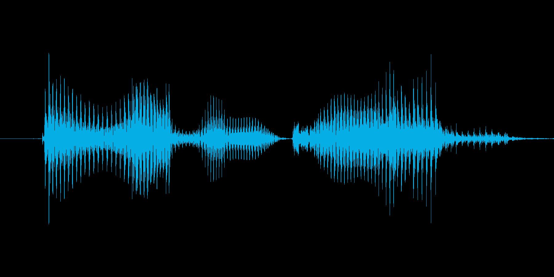 「11 PM」英語発音の再生済みの波形