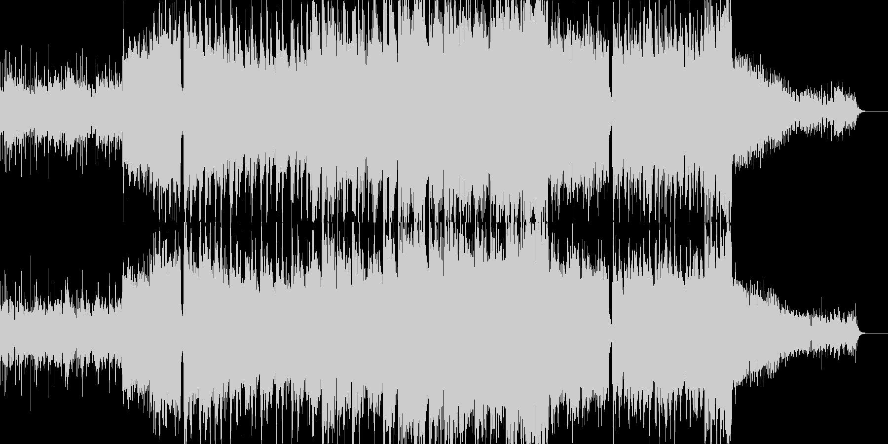 【ベース無し・ドラム無し】エピッ…緊迫の未再生の波形