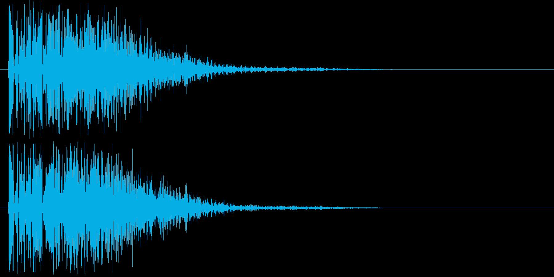 爆発音・大砲1の再生済みの波形