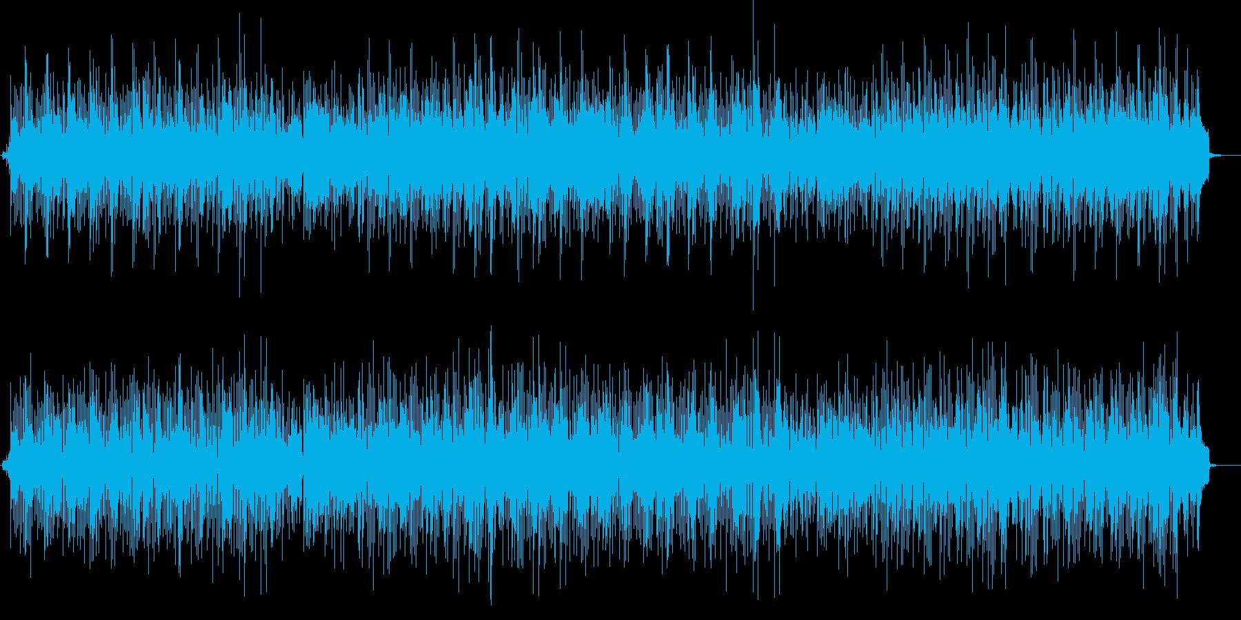 涼やかなボサノバ、さわやかなBGMの再生済みの波形