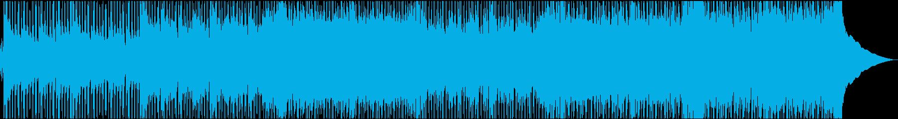 好奇心旺盛で元気ハツラツなBGMの再生済みの波形