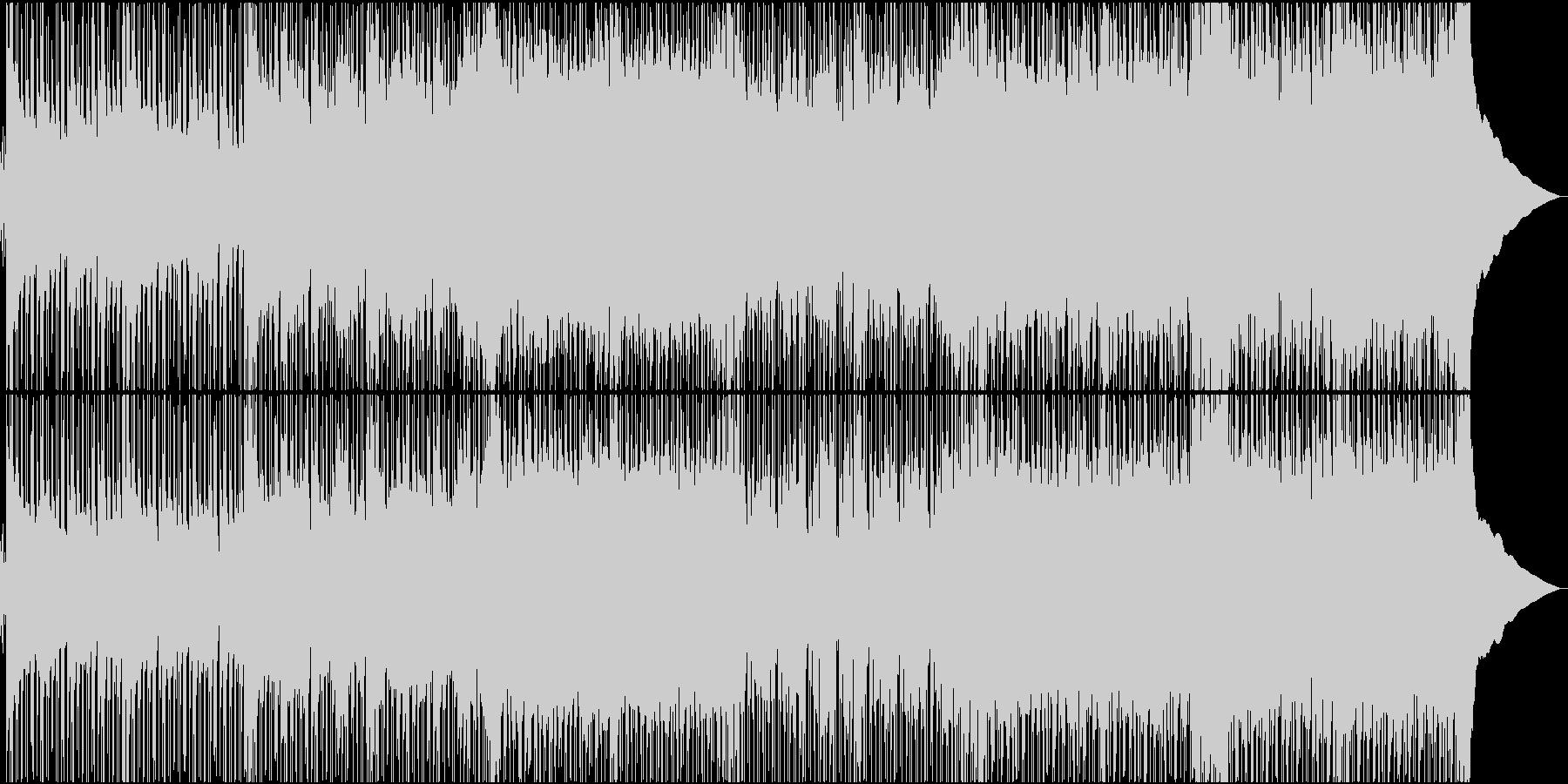 好奇心旺盛で元気ハツラツなBGMの未再生の波形