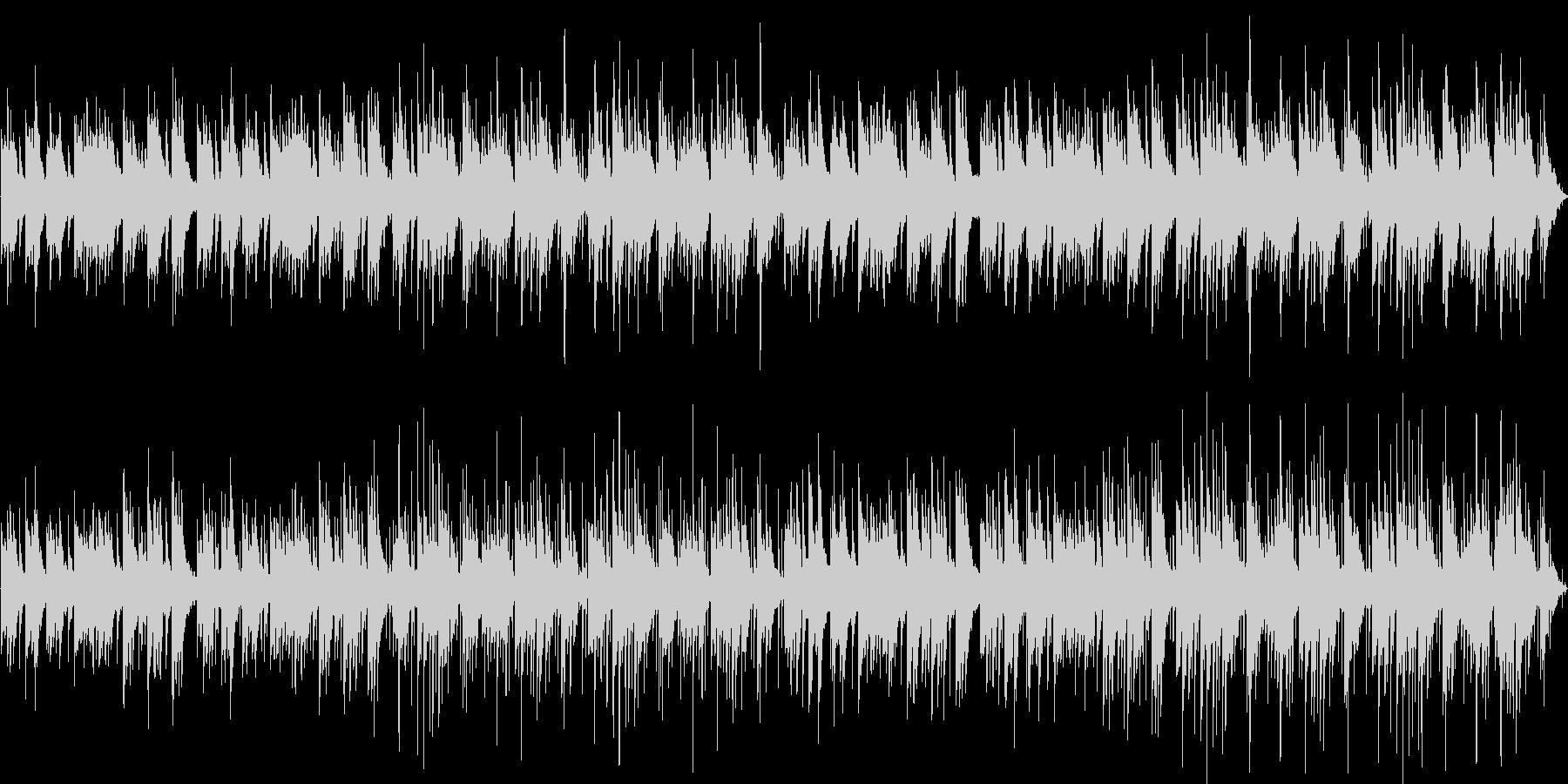 明るいが切ないピアノとアコギのポップスの未再生の波形