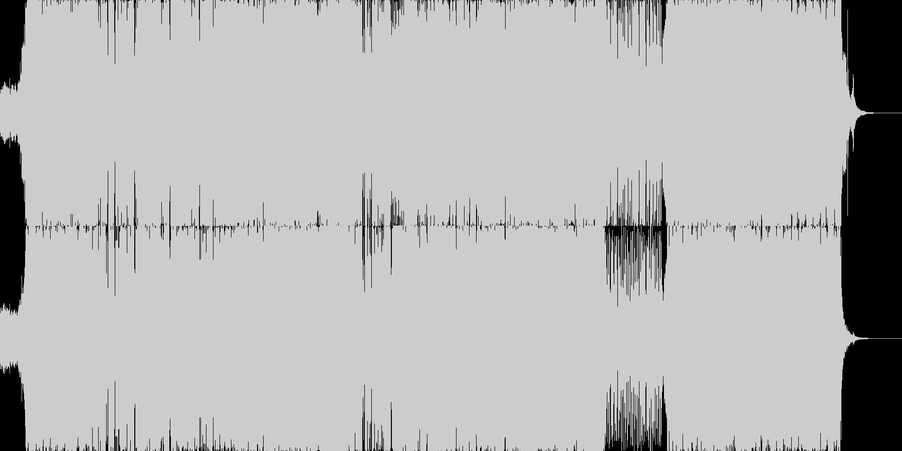 女性ボーカルのEDMウェディングソングの未再生の波形