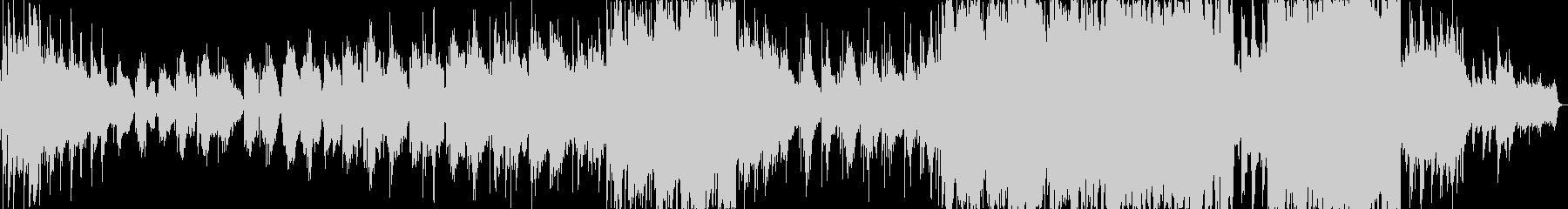 悲しい雰囲気のK-POP風バラードの未再生の波形