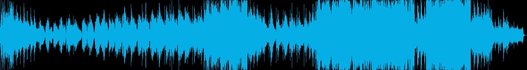 悲しい雰囲気のK-POP風バラードの再生済みの波形