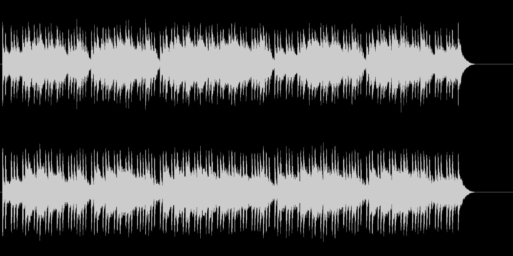 不安・緊張をもたらすホラーBGMの未再生の波形